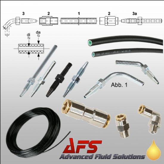 Hose Lines & Fittings for Central Lubrication Systems